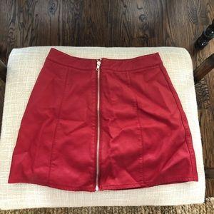 Forever 21 RETRO red skirt!!